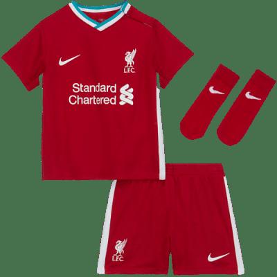 Nike Liverpool FC bébi mezszett - mez, nadrág, sportszár