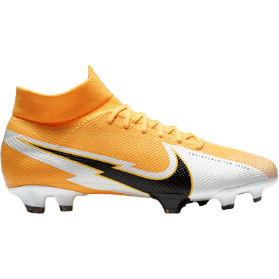 Nike Mercurial Superfly 7 Pro FG stoplis focicipő, sárga-fehér