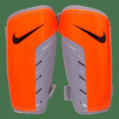 Nike Charge sípcsontvédő, narancssárga-fekete