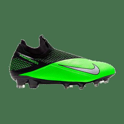 Nike Phantom Vision 2 Elite DF FG stoplis focicipő, zöld-fekete