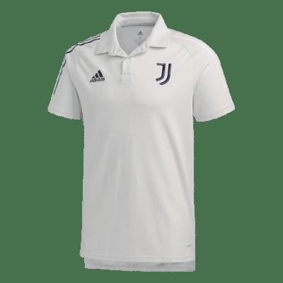 Adidas Juventus FC galléros póló, fehér