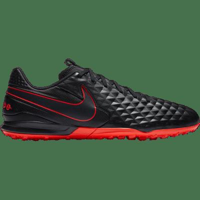 Nike Tiempo Legend 8 Academy TF műfüves focicipő, piros-fekete