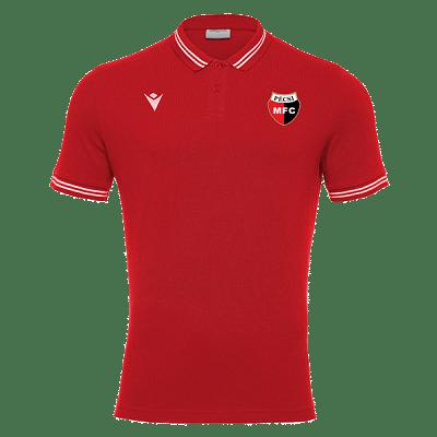 Macron PMFC Yukar galléros szurkolói póló, piros