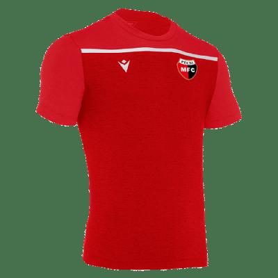 Macron PMFC Country edzőpóló, piros