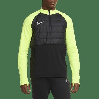 Nike Dri-FIT Academy melegítőfelső, fekete-fluosárga