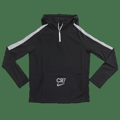 Nike Dri-Fit CR7 melegítőfelső, fekete, gyerekméret