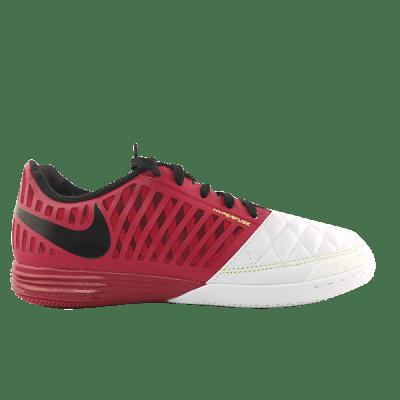 Nike Lunar Gato II IC teremcipő, bordó-fehér