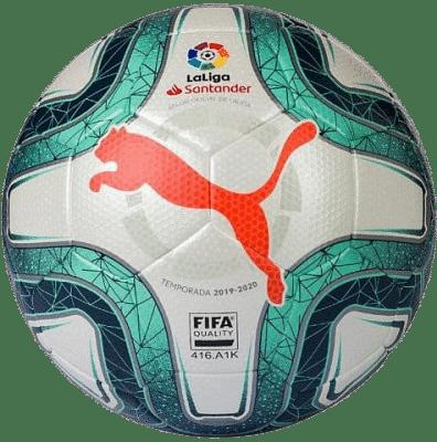 Puma La Liga 1 meccslabda, zöld-fehér