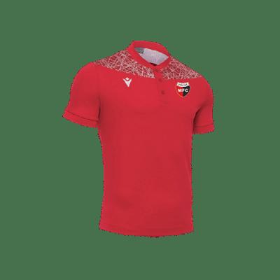 Macron PMFC póló, piros-fehér