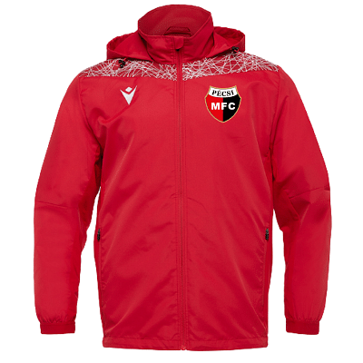 Macron PMFC Lahti széldzseki, piros