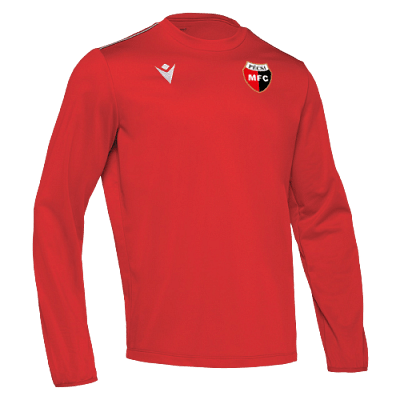 Macron PMFC Salzach hosszúujjú edző felső, piros