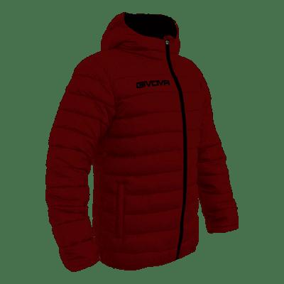 Givova Olanda átmeneti kabát, bordó-fekete