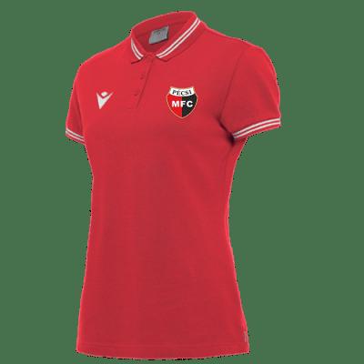 PMFC Hambo galléros női felső, piros