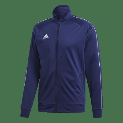 Adidas Core 18 melegítő felső, sötétkék