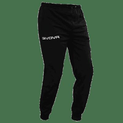 Givova Full Zip nadrág, fekete