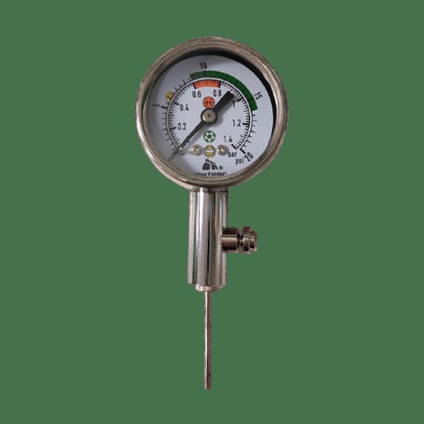Légnyomásmérő, ezüst