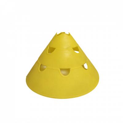 Lyukacsos bója, sárga