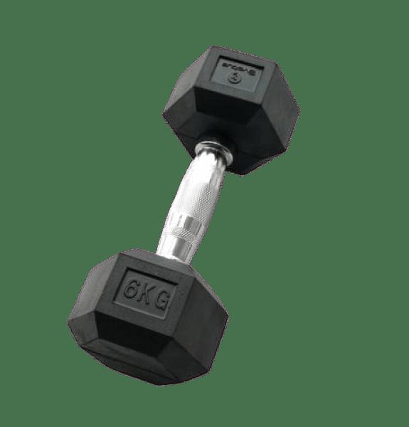 THERABAND Sveltus hatszögletű egykezes kézi súlyzó - 6 kg