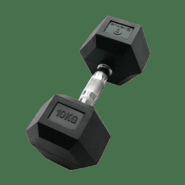 THERABAND Sveltus hatszögletű egykezes kézi súlyzó - 10 kg