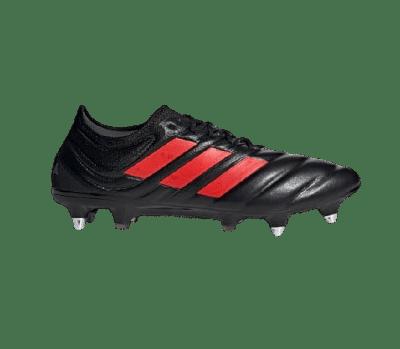 Adidas Copa 19.1 SG stoplis focicipő, fekete-piros