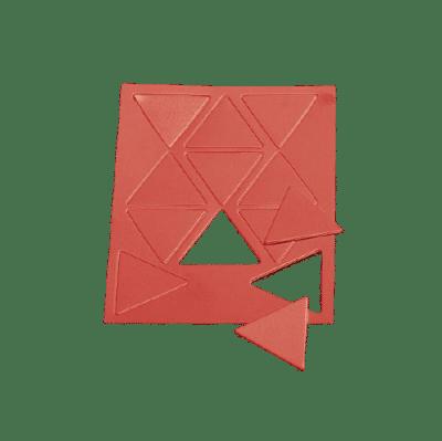 Taktifol Taktikai kiegészítő, játékos szimbólum, háromszög,  11db
