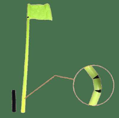 Salta szögletzászló szett, hüvelyes, 4db