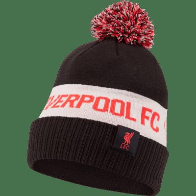 Nike Liverpool télisapka, bojtos fekete