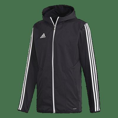 Adidas Tiro 19 kapucnis dzseki, fekete