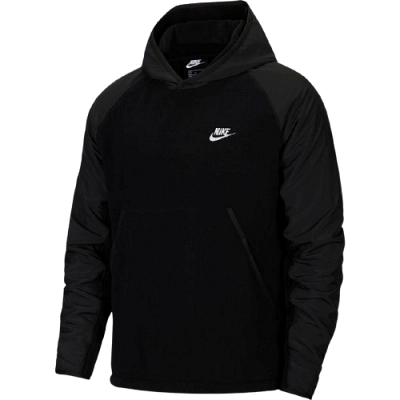 Nike Sportswear edzőfelső, fekete