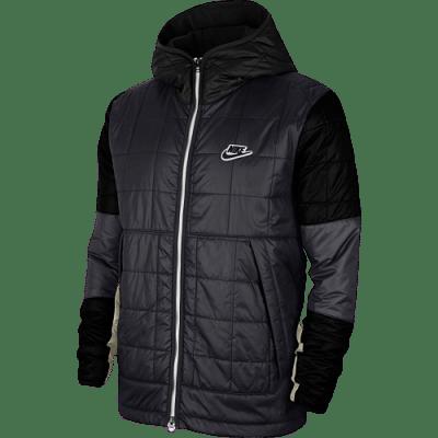 Nike sportswear kabát, szürke-fekete