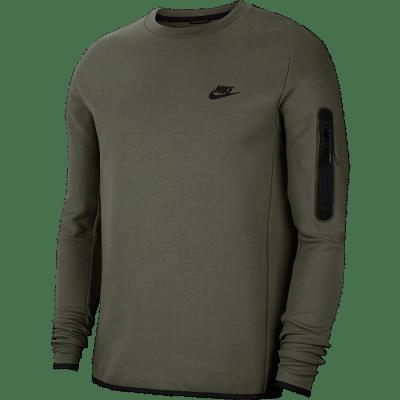 Nike Sportswear Tech Fleece hosszúujjú felső, khaki
