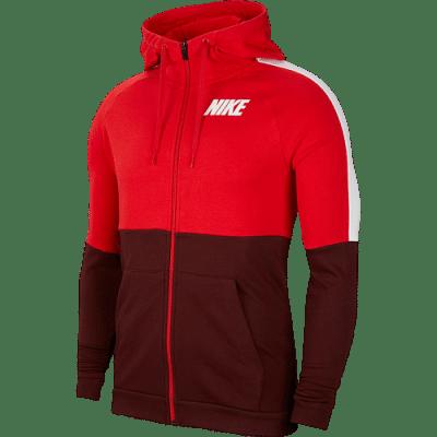 Nike Dry Fit melegítő felső, piros