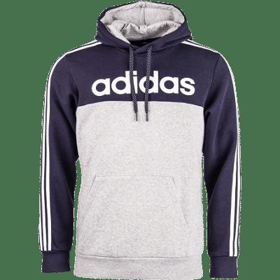 Adidas OSR M LIN kapucnis pulóver, szürke