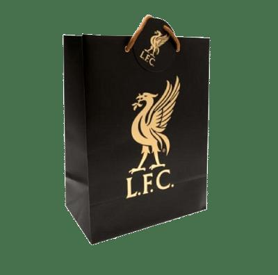 Liverpool ajándékszatyor fekete