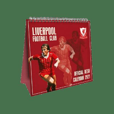 Liverpool asztali naptár 2021