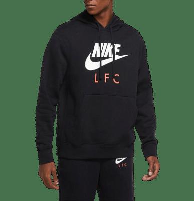 Nike Liverpool pulóver, fekete
