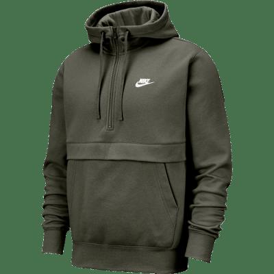 Nike Sportswear Club Fleece kapucnis pulóver, khaki