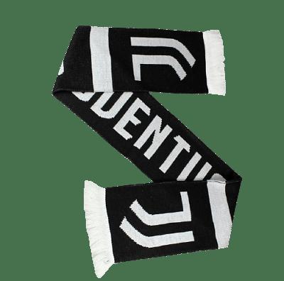 Juventus FC sál kötött, fekete