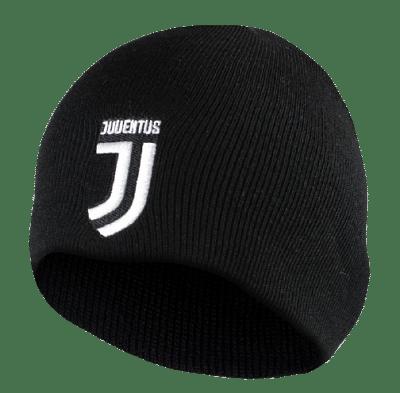 Juventus FC sapka kötött fekete