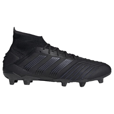 Adidas Predator 19.1 FG stoplis focicipő, fekete
