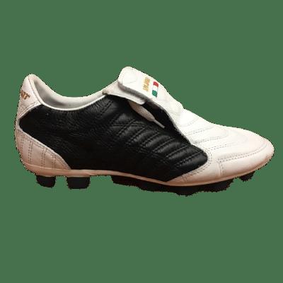 Leo Sport New Platinum TRX Lth stoplis focicipő, fekete-fehér