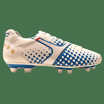 Leo Sport Superleggera FG stoplis focicipő TPX, fehér-kék