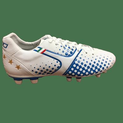 Leo Sport A-400 Leather stoplis focicipő, kék-fehér