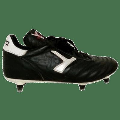 Leo Sport LS SG éles stoplis focicipő, fekete