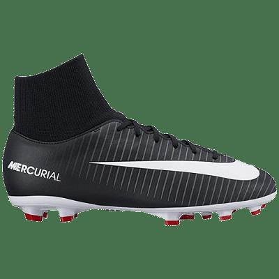 Nike Mercurial Victory VI DF FG stoplis focicipő, fekete, gyerekméret