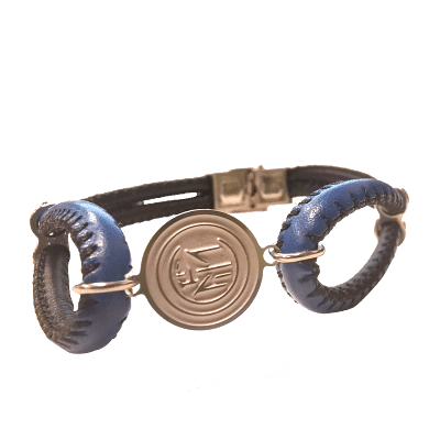 Internazionale FC karkötő, bőr