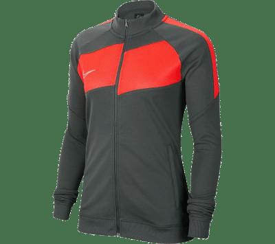 Nike Dri-Fit Academy Pro melegítő felső, női, szürke-piros