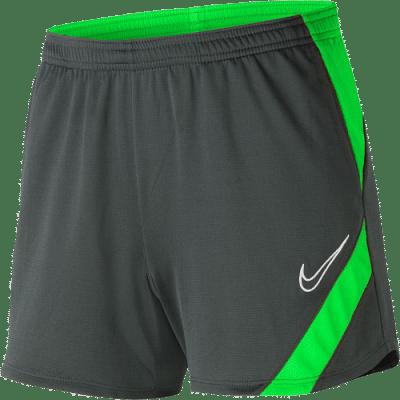 Nike Dri-Fit Academy Pro női rövidnadrág, szürke-zöld