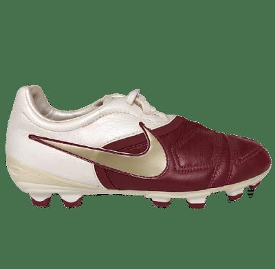 Nike CTR360 Libretto FG stoplis focicipő, bordó-fehér