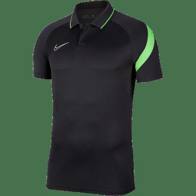 Nike Academy Pro galléros póló, fekete-zöld